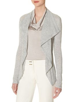 shawl-collar-lounge-cardigan by the-limited