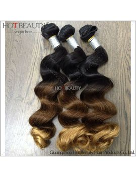 ombre-hair-extension-peruvian-virgin-hair--loose-wave,hot-beauty-hair-product-human-hair-1b_4_27-three-tone-color-4pcs-lot by ali-express