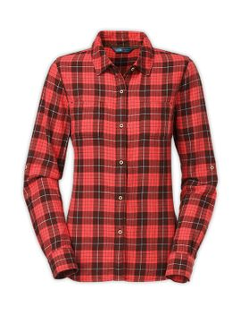 women's-long-sleeve-sunnyslope-flannel-shirt by the-north-face