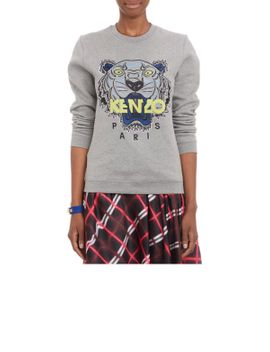 tiger-head-sweatshirt by kenzo