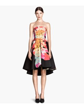 bell-shaped-bandeau-dress by h&m