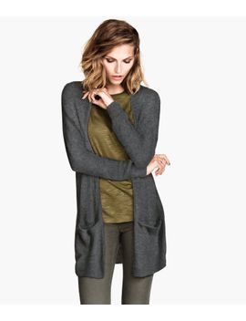 wide-wool-blend-cardigan by h&m
