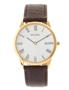sekonda-brown-strap-watch-367627 by sekonda