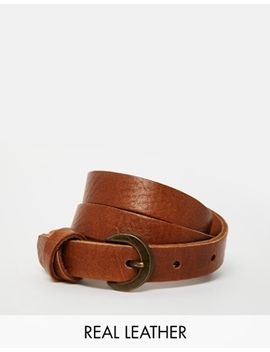 asos-leather-waist-belt-with-cross-detail by asos-collection