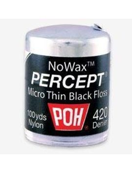 poh-dental-floss-percept-420-black-nowax-100-yard by poh