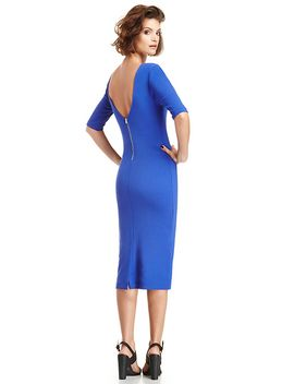 powerful-bodycon-midi-dress by dl