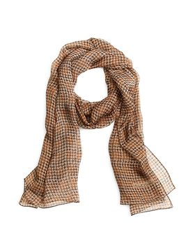 houndstooth-silk-chiffon-oblong by brooks-brothers
