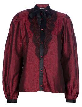 bow-blouse by emanuel-ungaro-vintage