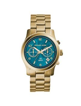 watch-hunger-stop-runway-gold-tone-stainless-steel-watch by michael-kors