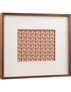 walnut-8x10-box-frame by crate&barrel
