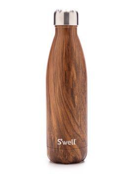 teakwood-17oz-water-bottle by swell
