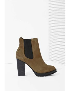 shoe-cult-ramble-chelsea-boot---olive by nasty-gal