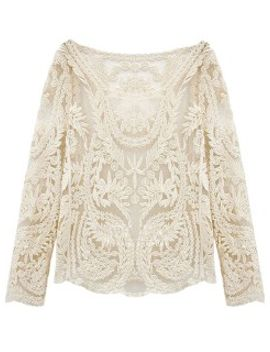 white-crochet-lace-mesh-long-sleeve-blouse by choies