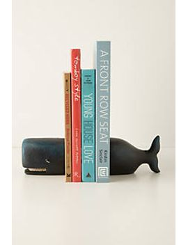 victorian-whale-bookends by anthropologie