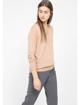 alpaca-blend-sweater by mango