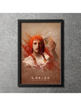 original-giclee-art-print-leeloo-dallas,-multipass by digitaltheory