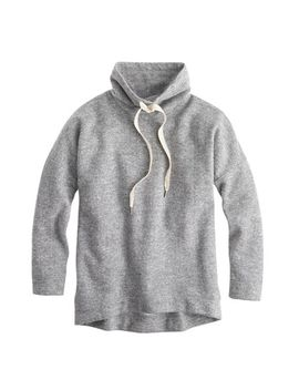 brushed-wool-funnelneck-sweatshirt by jcrew