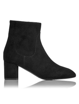 simi-black-suede-ankle-boot by lkbennett