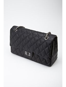 quilted-faux-leather-satchel by forever-21