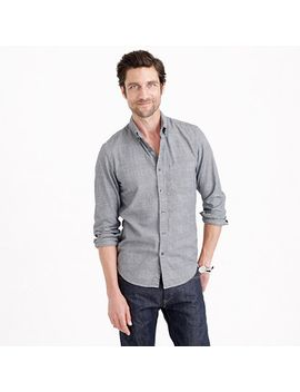slim-soft-heather-twill-shirt-in-glen-plaid by jcrew