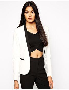 kardashian-kollection-at-lipsy-contrast-tailored-blazer by kardashian-kollection-at-lipsy