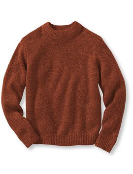 classic-ragg-wool-sweater,-rib-knit-crewneck by llbean