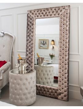 custom-upholstered-mirror---any-size,-any-style,-any-fabric by breezyblisshome