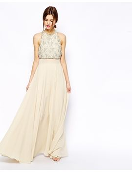 asos-maxi-dress-with-embellished-crop-top by asos-collection