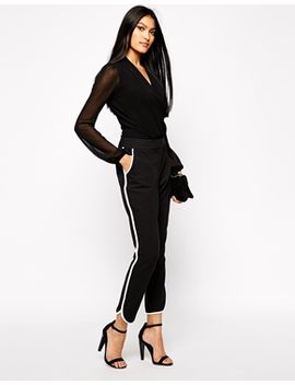 kardashian-kollection-at-lipsy-tailored-trouser-with-contrast-trim by kardashian-kollection-at-lipsy