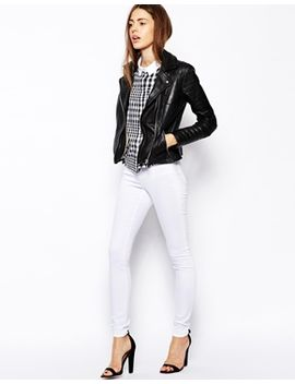 asos-ridley-high-waist-skinny-jeans-in-white by asos-collection