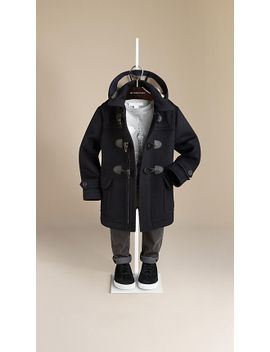 wool-duffle-coat by burberry