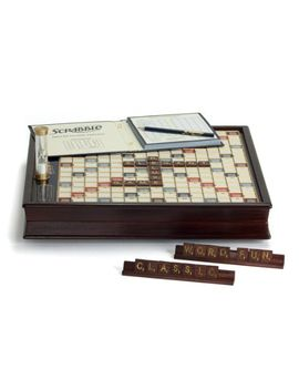 winning-solutions--scrabble-deluxe-wooden-edition-with-rotating-game-board by winning-solutions