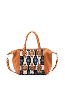 lara-geometric-embroidered-satchel-bag,-henna by isabella-fiore