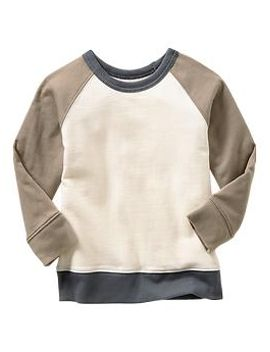 colorblock-baseball-sweatshirt by gap