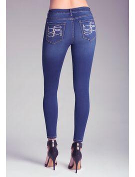 mirror-logo-skinny-jeans by bebe