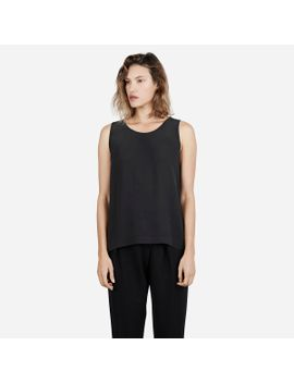 the-silk-split-back-tank by everlane