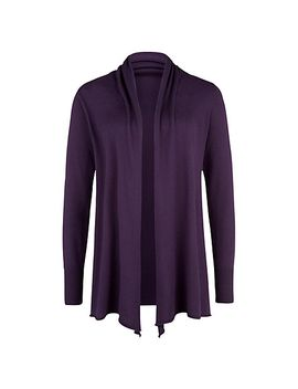 kaliko-waterfall-cardigan,-dark-purple by kaliko
