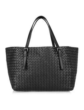 small-intrecciato-leather-tote by bottega-veneta