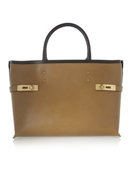 charlotte-leather-tote by chloé