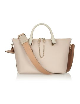 baylee-medium-leather-tote by chloé