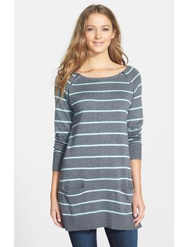 zip-detail-raglan-sleeve-tunic by caslon®
