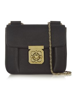 elsie-small-textured-leather-shoulder-bag by chloé