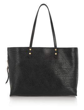 dilan-textured-leather-tote by chloé