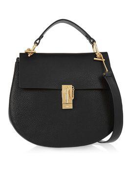 drew-medium-textured-leather-shoulder-bag by chloé