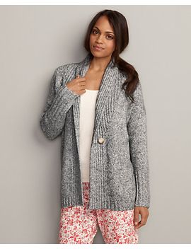 womens-ribbed-sleep-cardigan-sweater by eddie-bauer