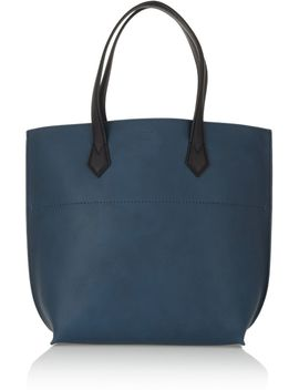 leather-shopper by fendi