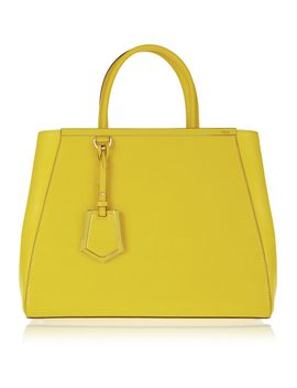 2jours-medium-textured-leather-shopper by fendi