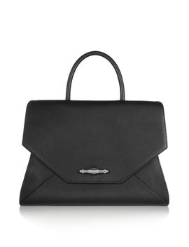 obsedia-bag-in-black-textured-leather by givenchy