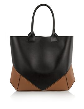 easy-tote-in-black-and-tan-leather by givenchy