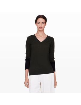agnes-contrast-cuff-sweater by club-monaco